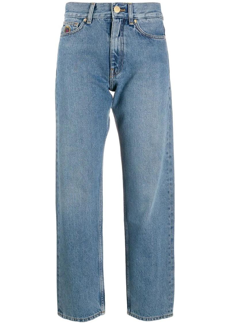 Tommy Hilfiger embroidered logo jeans