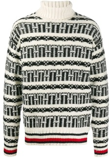 Tommy Hilfiger Fair Isle oversized jumper