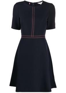 Tommy Hilfiger flared stitch panel dress