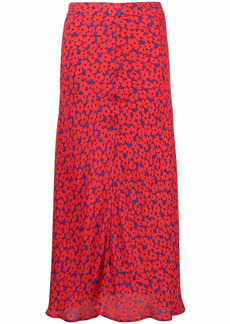Tommy Hilfiger floral print midi skirt