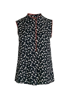 Tommy Hilfiger Floral Sleeveless Blouse