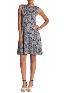 Tommy Hilfiger Flower Power Sleeveless Fit & Flare Dress