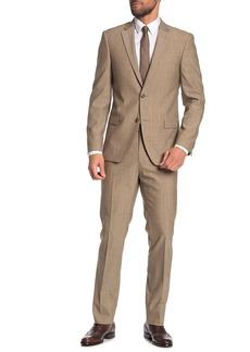 Tommy Hilfiger Front Button Solid 2-Piece Suit