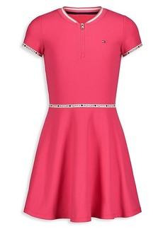 Tommy Hilfiger Girl's Logo Dress