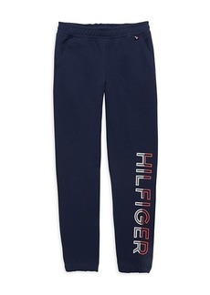 Tommy Hilfiger Girl's Logo Joggers