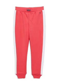 Tommy Hilfiger Girl's The Rib Cuff Joggers