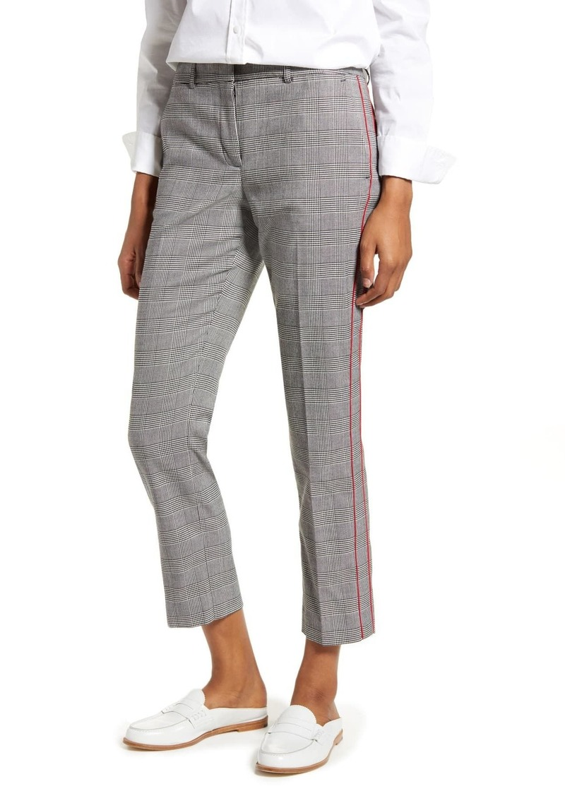 Tommy Hilfiger Glen Plaid Crop Pants