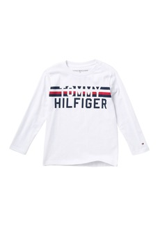 Tommy Hilfiger Global Long Sleeve Stripe Tee (Toddler Boys)