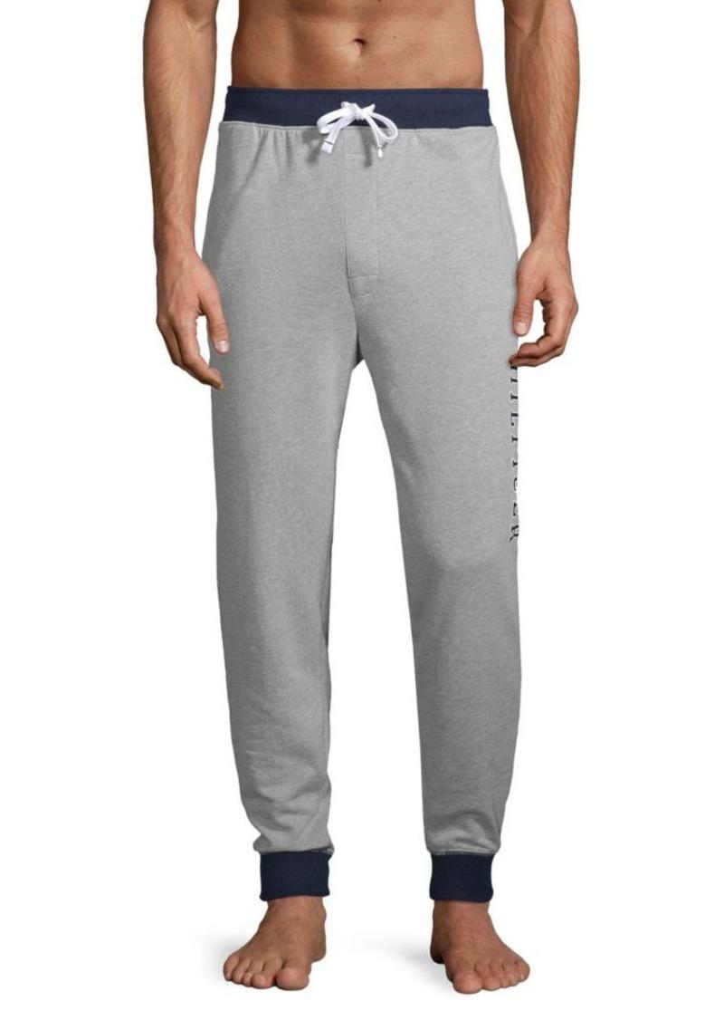 Tommy Hilfiger Graphic Cotton-Blend Jogger Pants