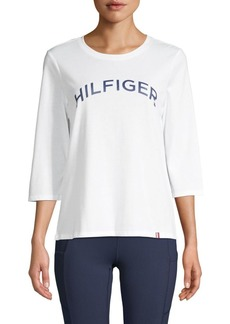 Tommy Hilfiger Graphic Cotton-Blend Tee