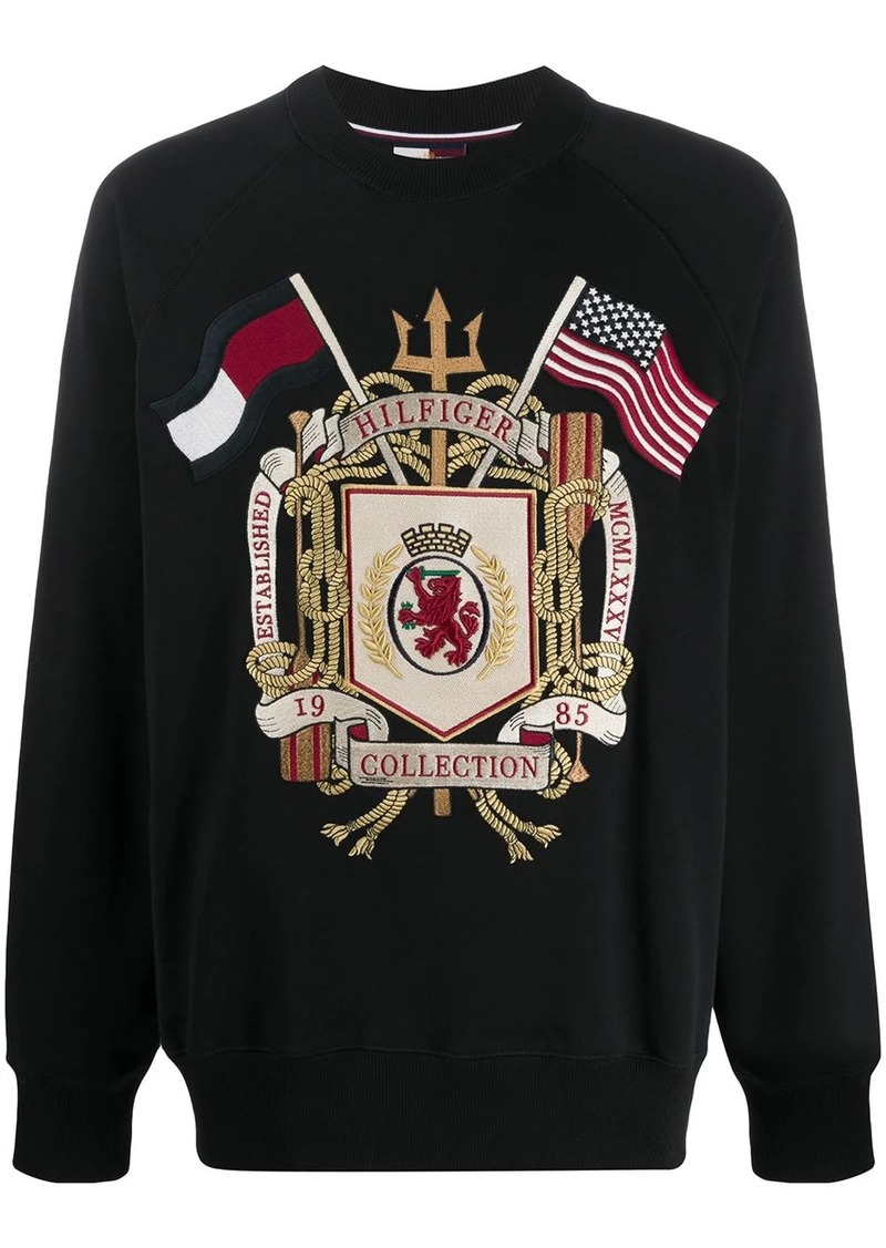 Tommy Hilfiger HCM Archive embroidered sweatshirt