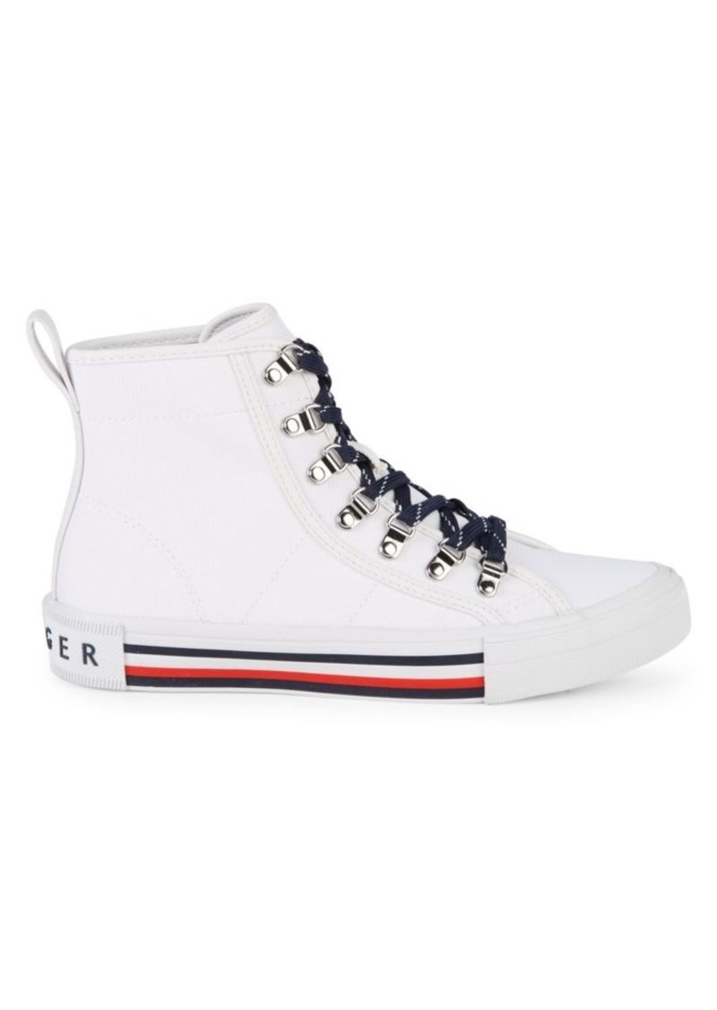 Tommy Hilfiger Hero Canvas High-Top Sneakers