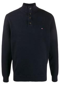 Tommy Hilfiger high-neck logo pullover
