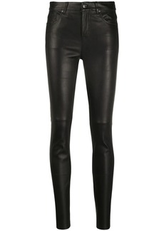 Tommy Hilfiger high-rise skinny trousers