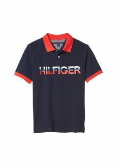 Tommy Hilfiger Hilfiger Vertical Logo Polo (Big Kids)