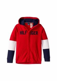 Tommy Hilfiger Hoodie Sweatshirt with Hidden Magnetic Closure (Little Kids/Big Kids)