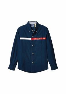 Tommy Hilfiger Icon Stripe Shirt (Little Kids/Big Kids)