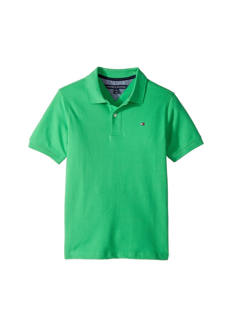 0f2611909dc79 SALE! Tommy Hilfiger Ivy Stretch Pique Polo (Big Kids)