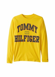 Tommy Hilfiger Jean Long Sleeve Solid Tee Shirt (Big Kids)