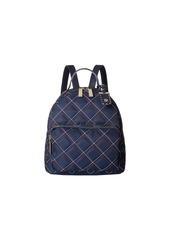 Tommy Hilfiger Julia Dome Triple Quilt Nylon Backpack