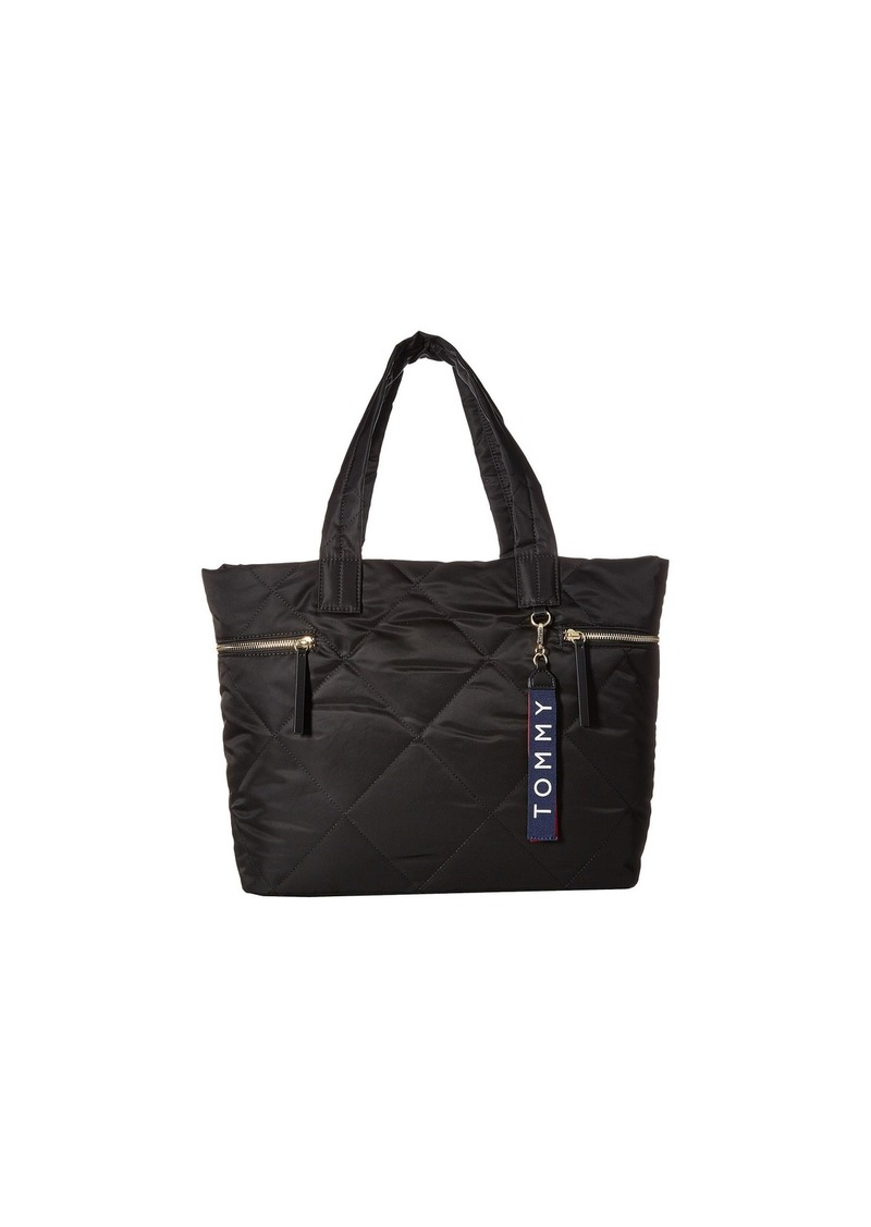 a04ba72aaa2 Tommy Hilfiger Kensington Quilt Nylon Tote   Handbags