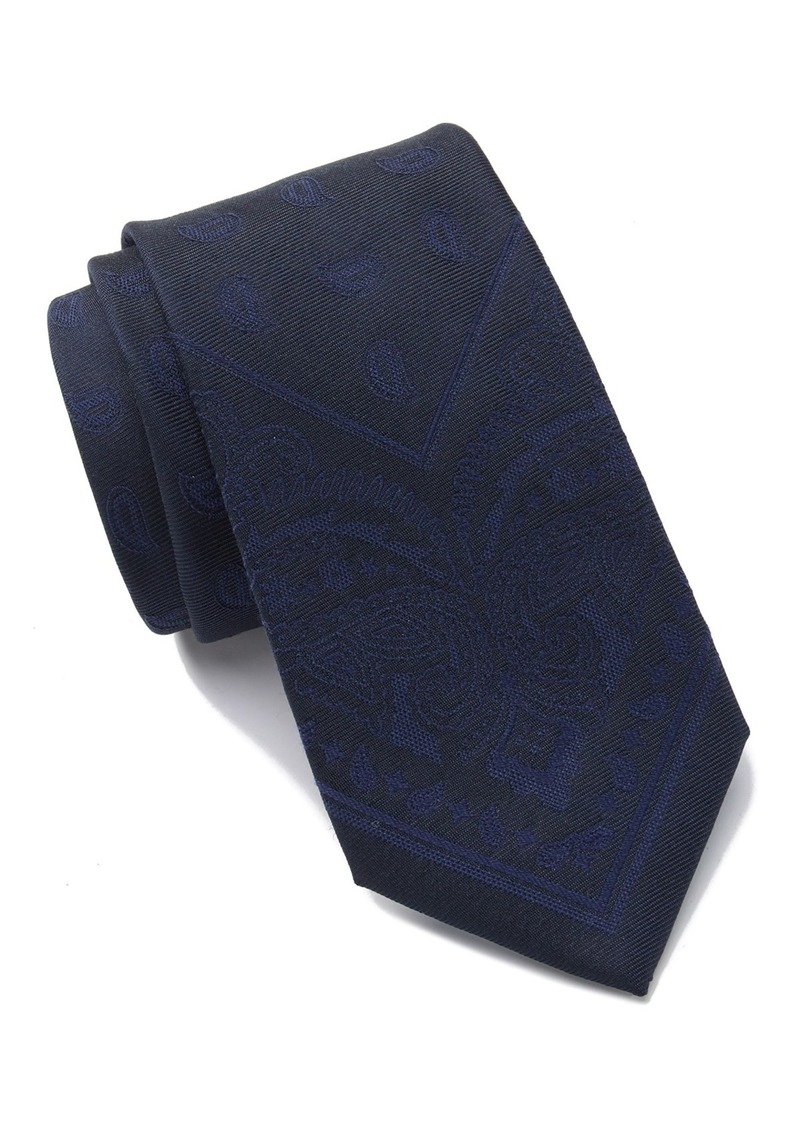 Tommy Hilfiger Large Paisley Panel Tie