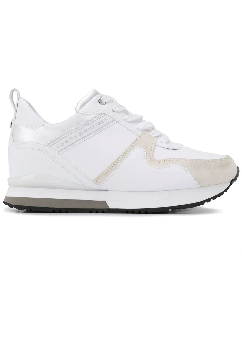 Tommy Hilfiger leather lace-up sneakers