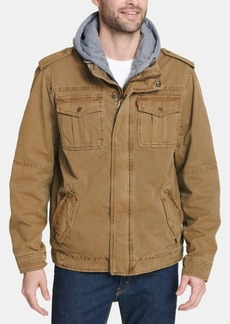 Levi's Men's Big & Tall Layered-Look Trucker Jacket, Created For Macy's