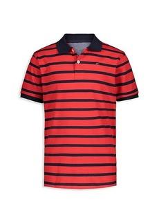 Tommy Hilfiger Little Boy's Striped Cotton Polo