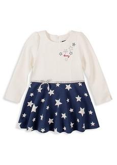 Tommy Hilfiger Little Girl's Star Long-Sleeve Dress