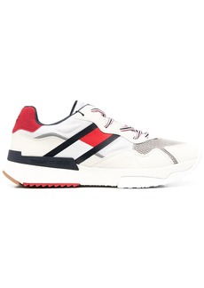 Tommy Hilfiger logo colour-block sneakers
