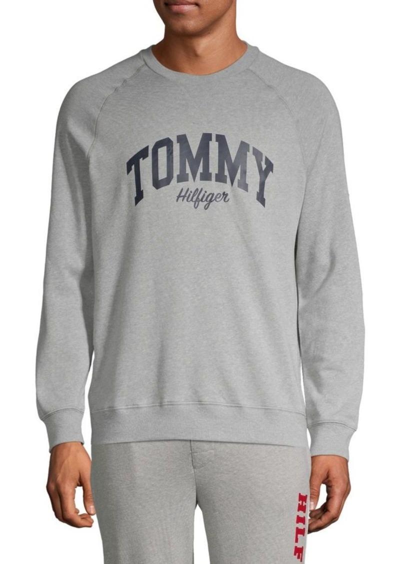 Tommy Hilfiger Logo Cotton-Blend Sweatshirt