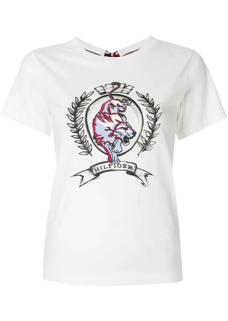 86fd4e50 Tommy Hilfiger logo crest T-shirt | Tees