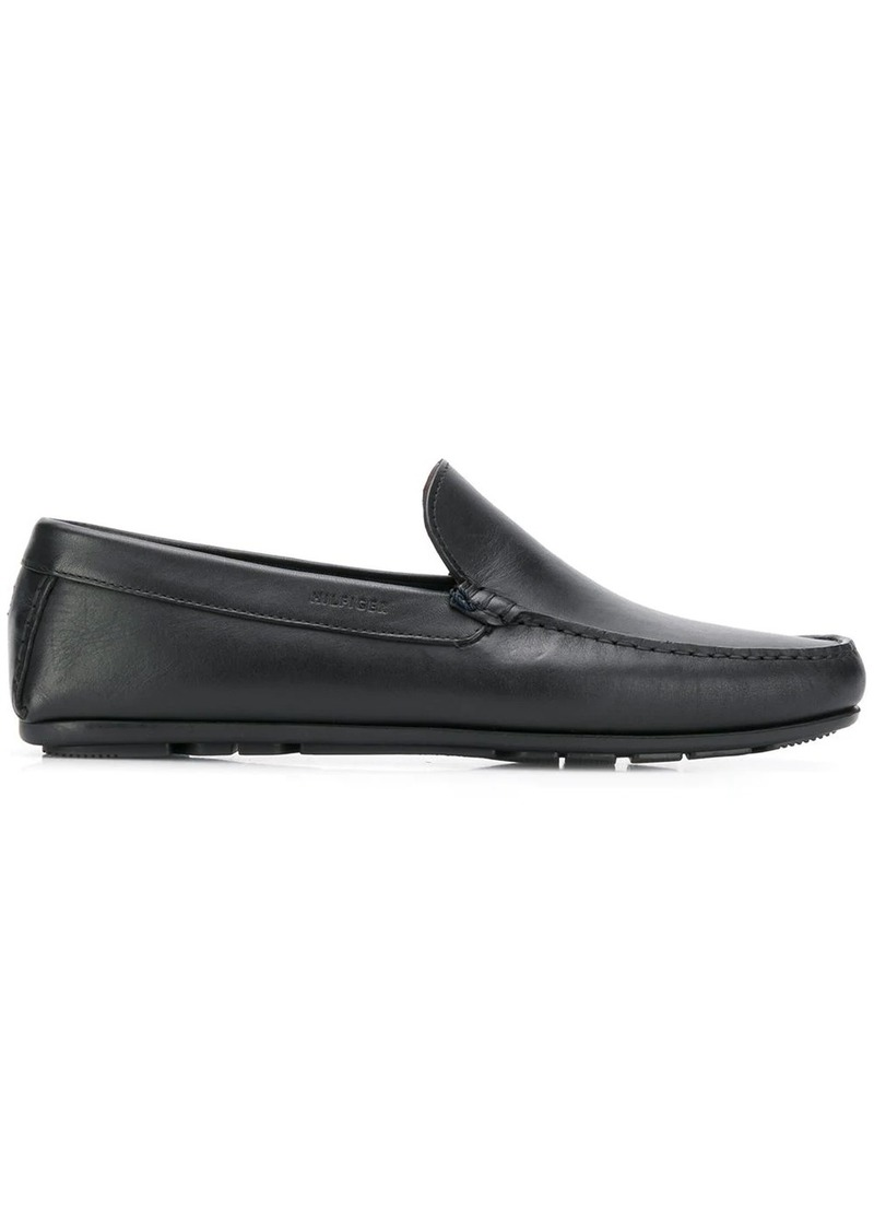 Tommy Hilfiger logo embossed loafers