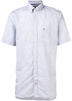 Tommy Hilfiger logo-embroidered button-down shirt