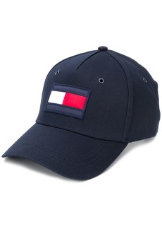 Tommy Hilfiger logo embroidered panelled cap