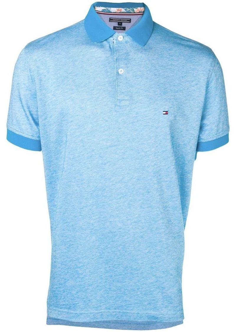 Tommy Hilfiger logo-embroidered polo shirt