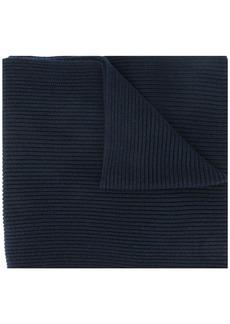 Tommy Hilfiger logo embroidered scarf