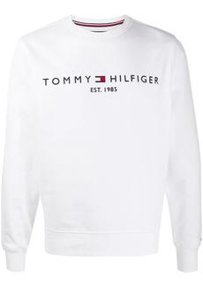 Tommy Hilfiger logo embroidered sweatshirt