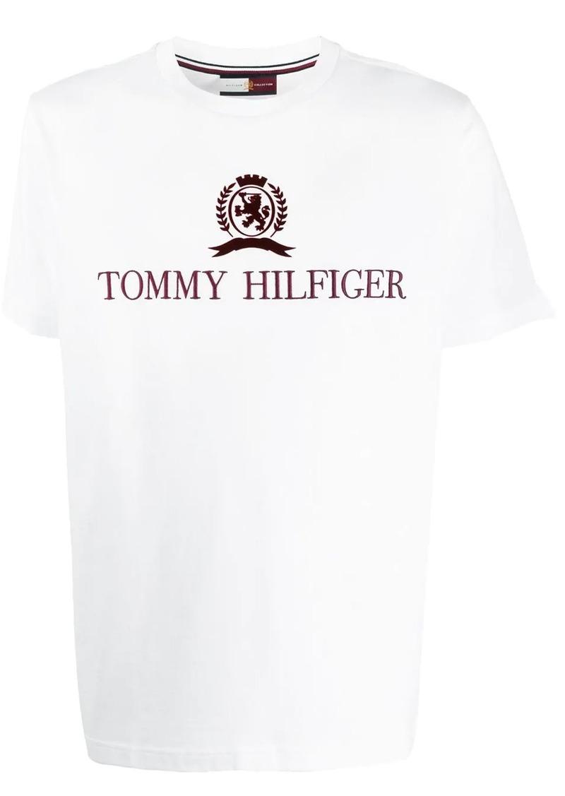 Tommy Hilfiger logo embroidered T-shirt