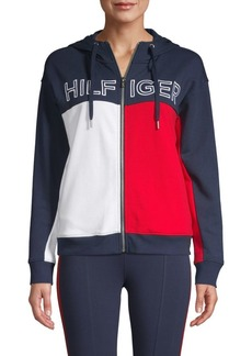 Tommy Hilfiger Logo Full Zip Hoodie