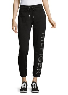 Tommy Hilfiger Logo Graphic Drawstring Sweatpants