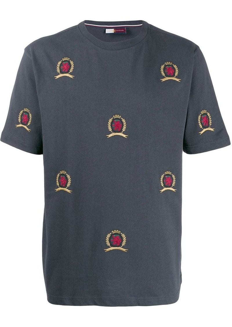 Tommy Hilfiger logo patch embroidered T-shirt