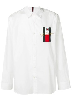 Tommy Hilfiger logo patch shirt