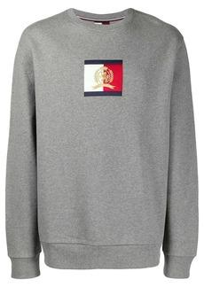 Tommy Hilfiger logo patch sweatshirt