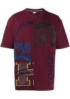 Tommy Hilfiger logo patchwork T-shirt