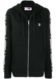 Tommy Hilfiger logo print band hoodie