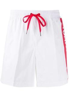 Tommy Hilfiger logo print swim shorts