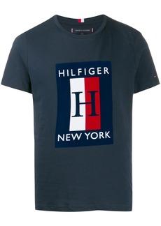 Tommy Hilfiger logo print T-shirt