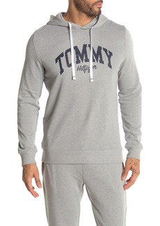 Tommy Hilfiger Logo Pullover Fleece Lined Lounge Hoodie